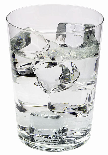 drinking water for tooth health